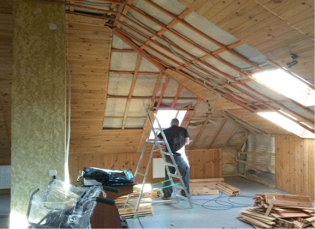 Строительство дома: подумайте об изоляции мансарды