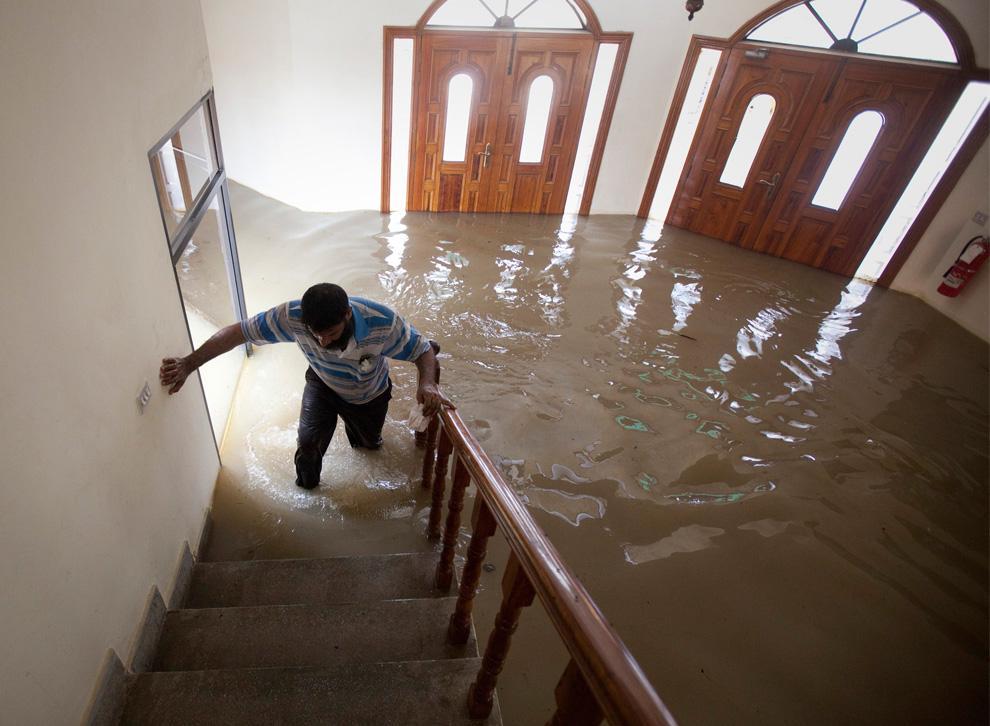 Какие действия можно предпринять для ограничения ущерба, наносимого водой?