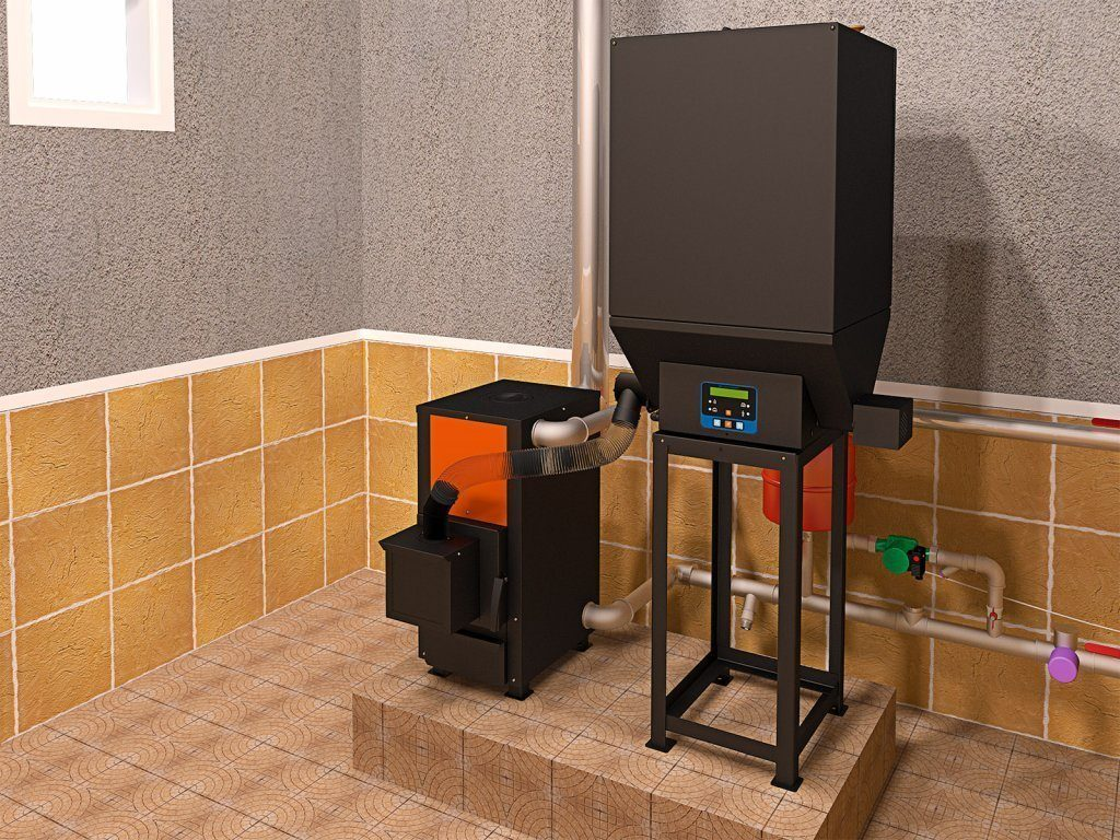 Плита для гранул для отдельно стоящего дома: преимущества и недостатки