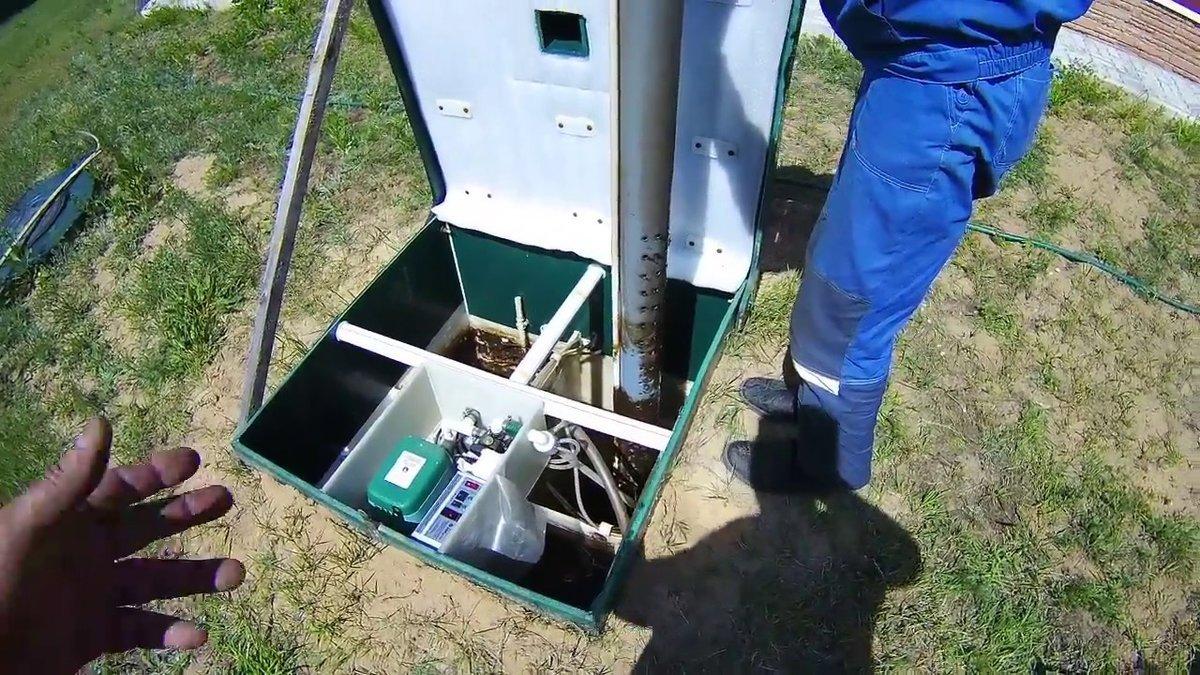 Обслуживание и очистка водных ям