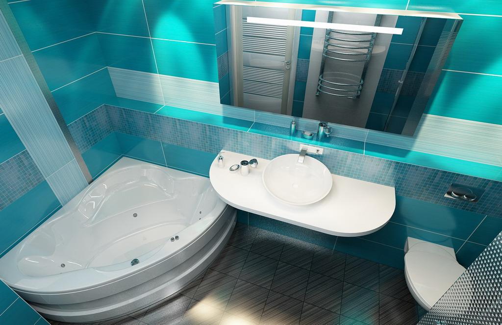 Ремонт ванной комнаты: установка островной ванны