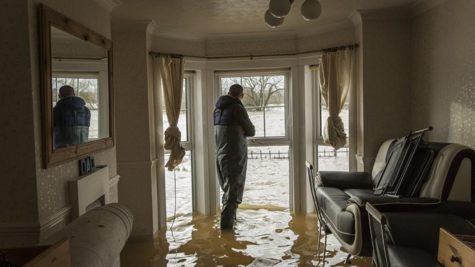 Ущерб, причиненный водой