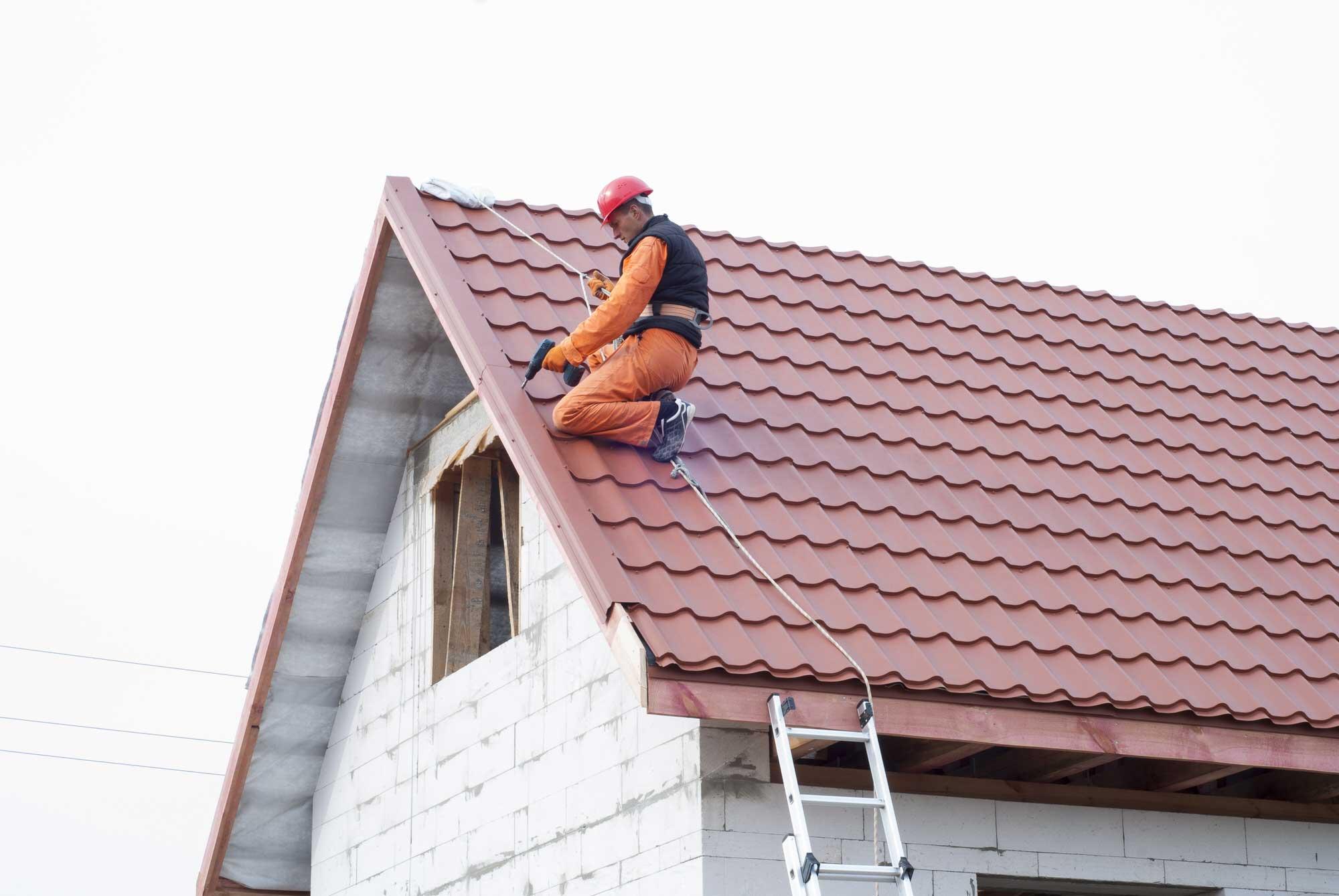 Как убрать крышу дома?