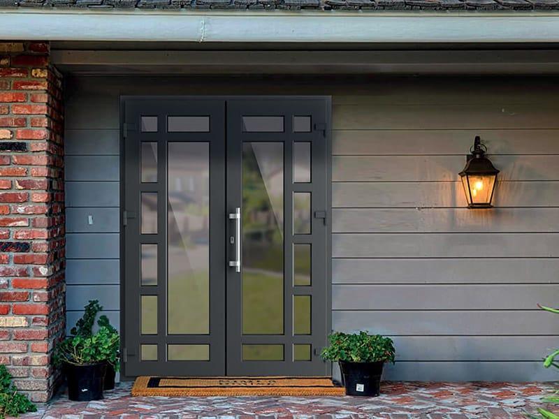 Алюминиевые двери: особенности выбора