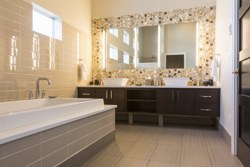 Как изменить внешний вид ванной комнаты?