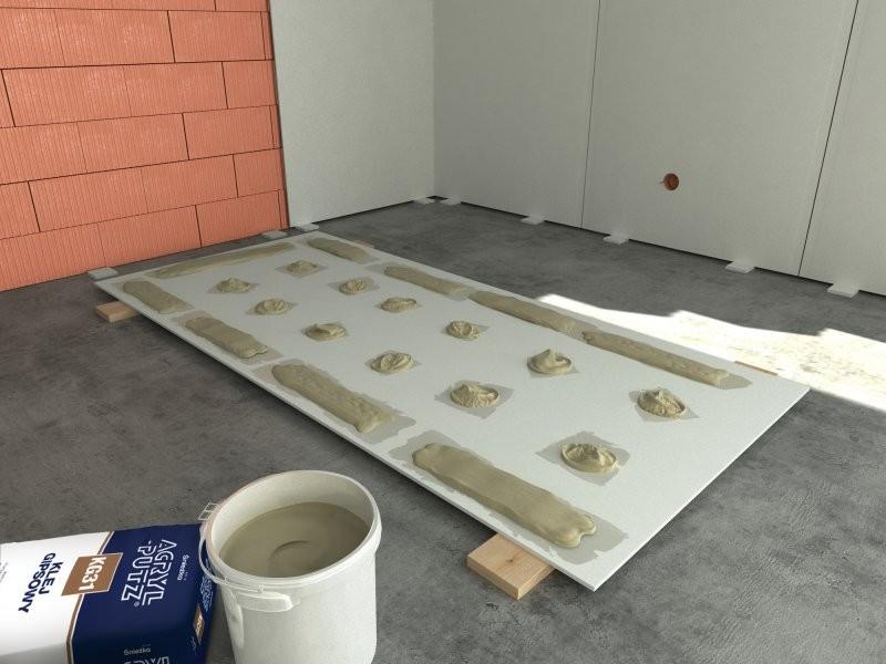 Как приклеить гипсокартон к стене, если она не имеет плоской поверхности