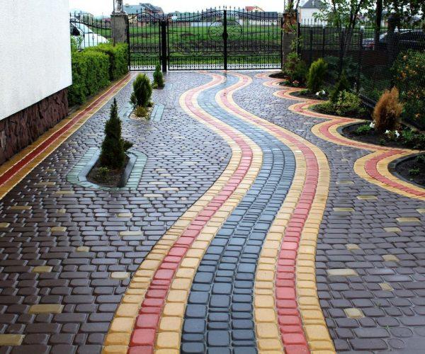 Укладка тротуарной плитки: инструкция
